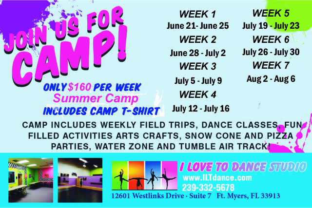 Summer Dance Camp Fort Myers FL